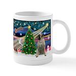 Xmas Magic & Bull Mastiff Mug