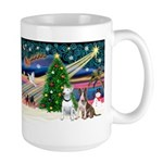 XmasMagic/2 Bullies Large Mug