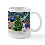 XmasMagic/Bull Terrier (W) Mug