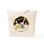 Night Flight/Cairn #4 Tote Bag