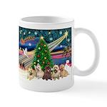Xmas Magic & 5 Cairn Terriers Mug