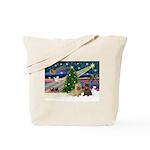 Xmas Magic & 2 Cairns Tote Bag