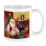 Santa's Cairn Terrier Mug