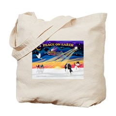XmasSunrise/Cavalier #6 Tote Bag