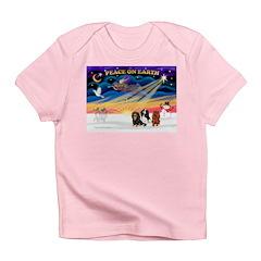 XmasSunrise/3 Cavaliers Infant T-Shirt