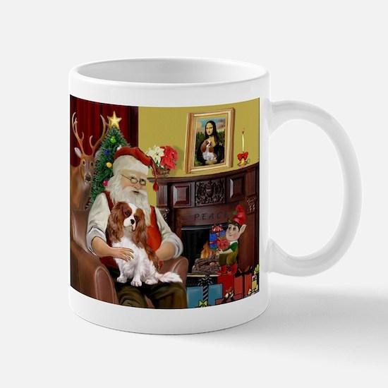 Santa's Cavalier (BL) Mug