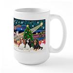 XMAS MAGIC / 3 Cavaliers Large Mug
