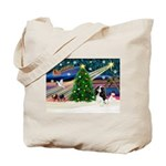 XmasMagic/Tri Cavalier Tote Bag