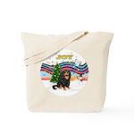 XmasMusic1MCL/Cavalier Tote Bag