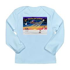XmasSunrise/Chihuahua #1 Long Sleeve Infant T-Shir