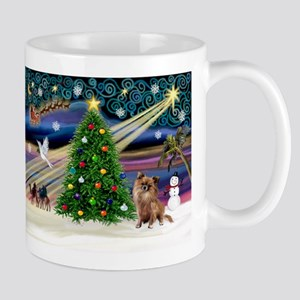 Xmas Magic & Chihuahua Mug