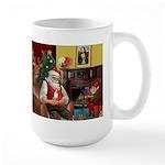 Santa's Chihuahua Large Mug