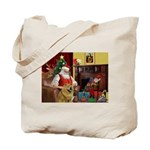 Santa's Chow Chow Tote Bag