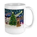 XmasMagic/Cocker (Brn) Large Mug