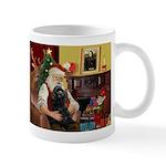 Santa's Black Cocker Mug