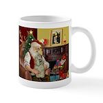 Santa's Buff Cocker Mug