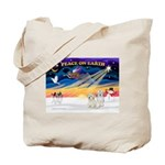 XmasSunrise/2 Cotons Tote Bag