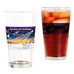 XmasSunrise/2 Cotons Drinking Glass