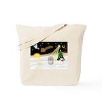 Night Flight/Coton #1 Tote Bag