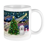 Xmas Magic & Coton De Tulear Mug