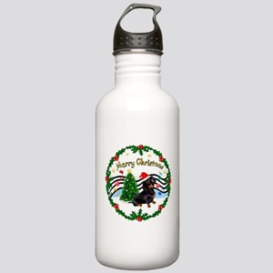 XmasMusic1/Dachshund #17 Stainless Water Bottle 1.