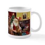 Santa's Dachshund (Br) Mug