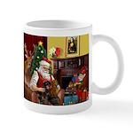 Santa/Two Dachshunds (BB) Mug