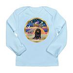 XmasStar/Dachshund LH Long Sleeve Infant T-Shirt