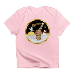 Night Flight/Dachshund #11 Infant T-Shirt