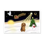 NIGHT FLIGHT<br>&Dachshund LH 22x14 Wall