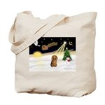 NIGHT FLIGHT<br>&Dachshund LH Tote Bag