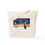 XmasSunrise/Dobbie #1 Tote Bag