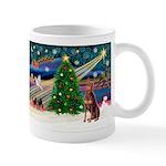 Xmas Magic/Red Dobie Mug
