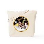 Night Flight/2 Eng Bulldogs Tote Bag
