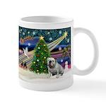 Xmas Magic & Bulldog Mug