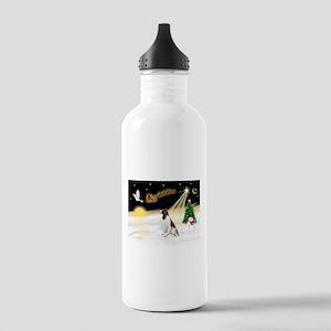 Night Flight/Eng Springer L3 Stainless Water Bottl