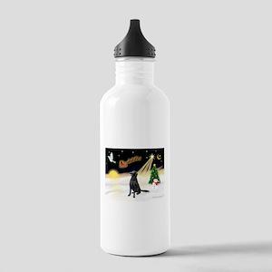 Night Flight/Fl Coat Retrieve Stainless Water Bott
