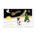 Night Flight/Fox Terrier 22x14 Wall Peel