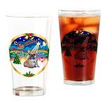 XmasMusic 3/Fr Bulldog #16 Drinking Glass