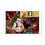 Santa's French BD (1) 22x14 Wall Peel
