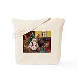 Santa's French BD (1) Tote Bag