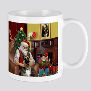 Santa's G-Shepherd (#2) Mug