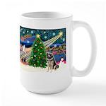 XmasMagic/G Shepherd #10 Large Mug