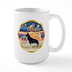 XmasStar/German Shepherd #14 Large Mug