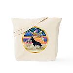 XmasStar/German Shepherd #14 Tote Bag