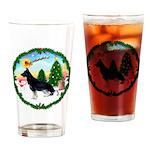 Take Off1/German Shepherd #14 Drinking Glass