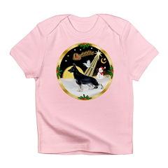 NightFlight-German Shep3 Infant T-Shirt