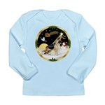 Night Flight/German Shepherd Long Sleeve Infant T-