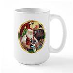 Santa's German Shepherd #15 Large Mug