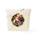 Santa's German Shepherd #15 Tote Bag